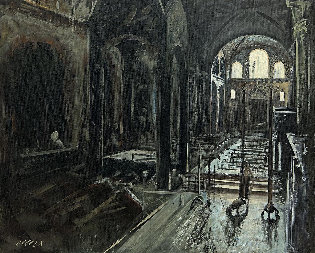 Basilica di sant ambrogio-interno
